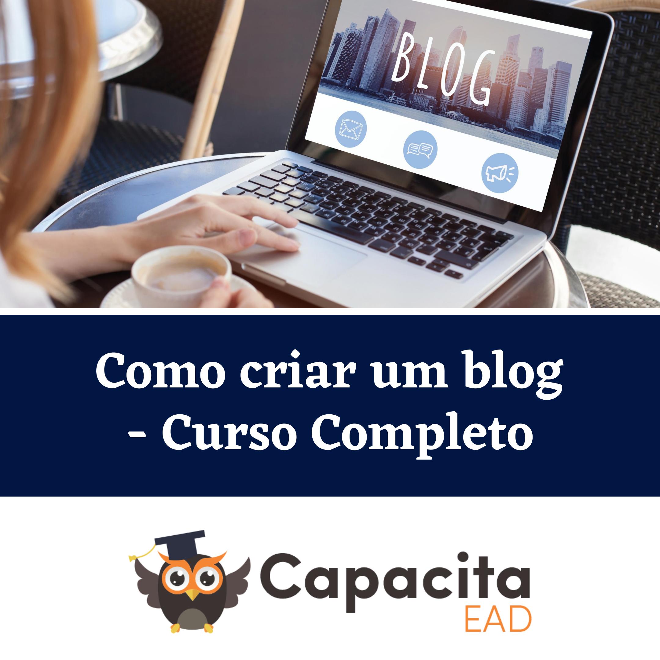 Como criar um blog - Curso Completo