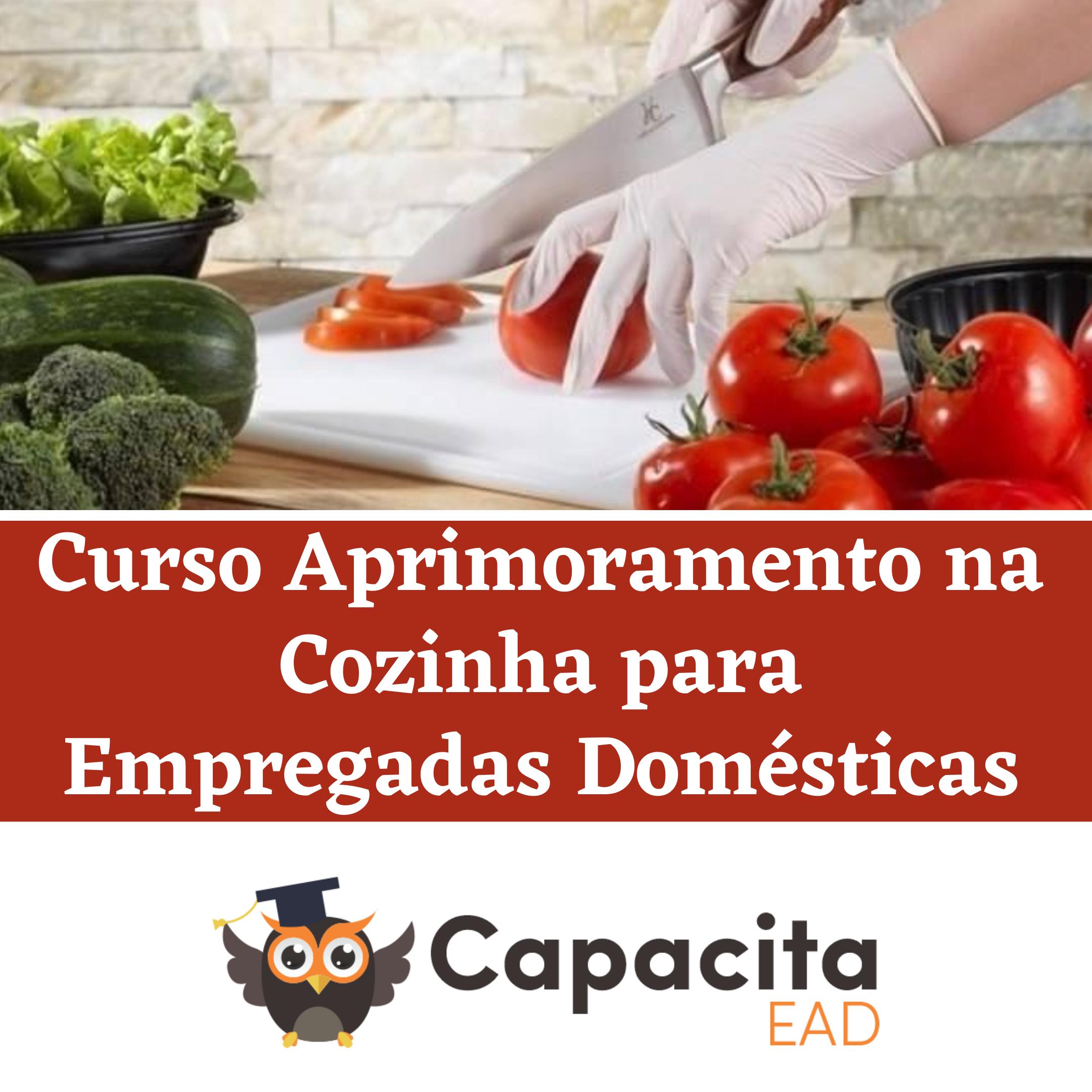 Curso Aprimoramento na Cozinha para Empregadas Domésticas