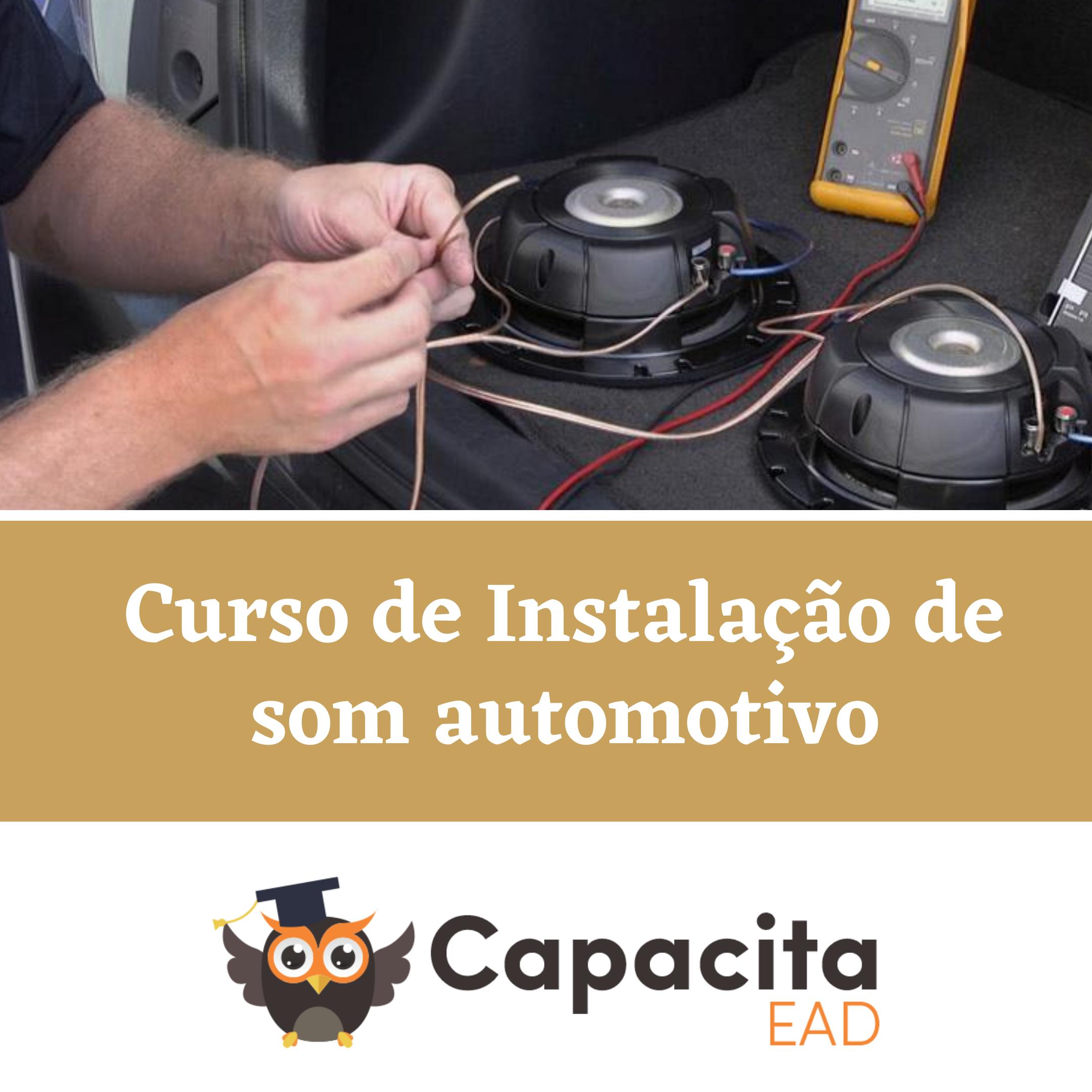Curso de Instalação de som automotivo