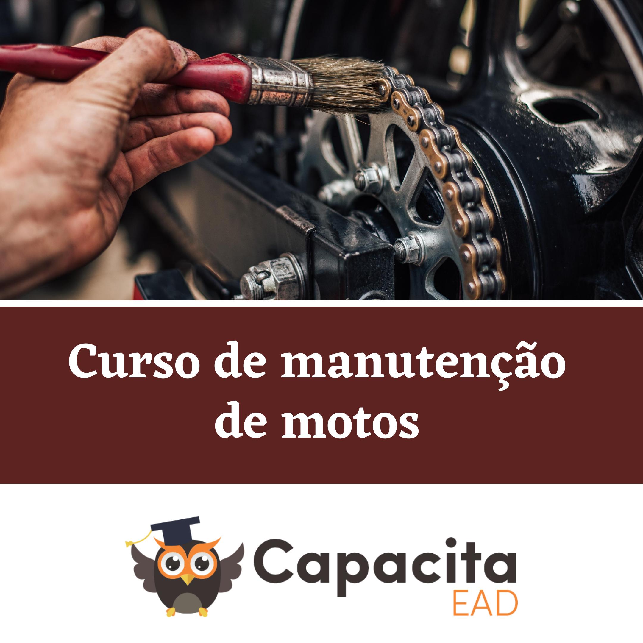 Curso de manutenção de motos