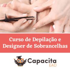 Curso de Depilação e Designer de Sobrancelhas