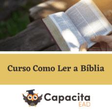 Curso Como Ler a Bíblia