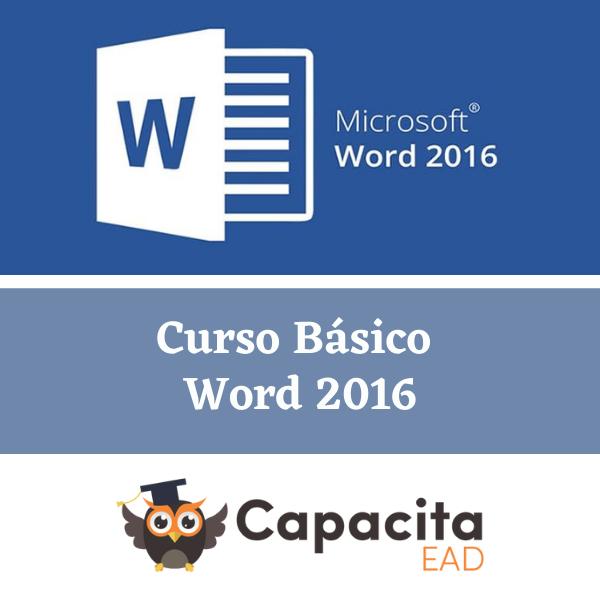 Curso Word 2016 - Básico