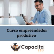 Curso empreendedor produtivo